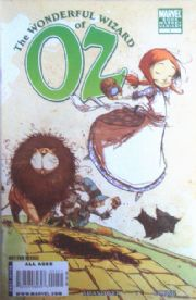 Wonderful Wizard Of Oz #1 Book Market Variant (2008) Marvel comic book